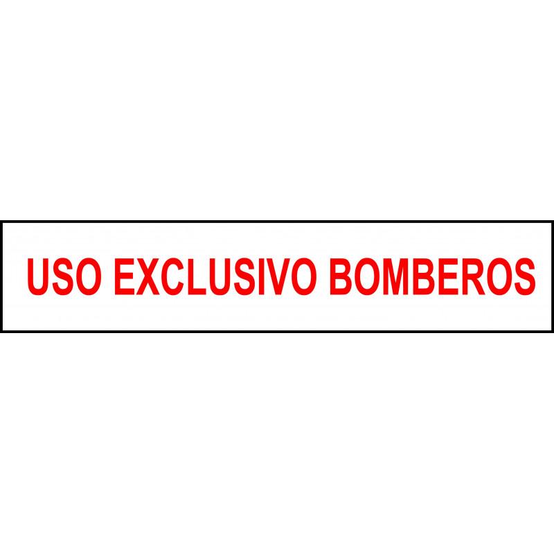Banda Adhesiva Uso Exclusivo Bomberos 50CM X 10CM