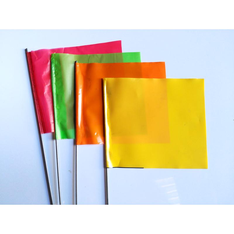 Caja 50 unidades Banderas Topográficas - Distintos colores