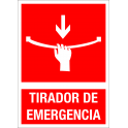 Cartel Tirador de Emergencia