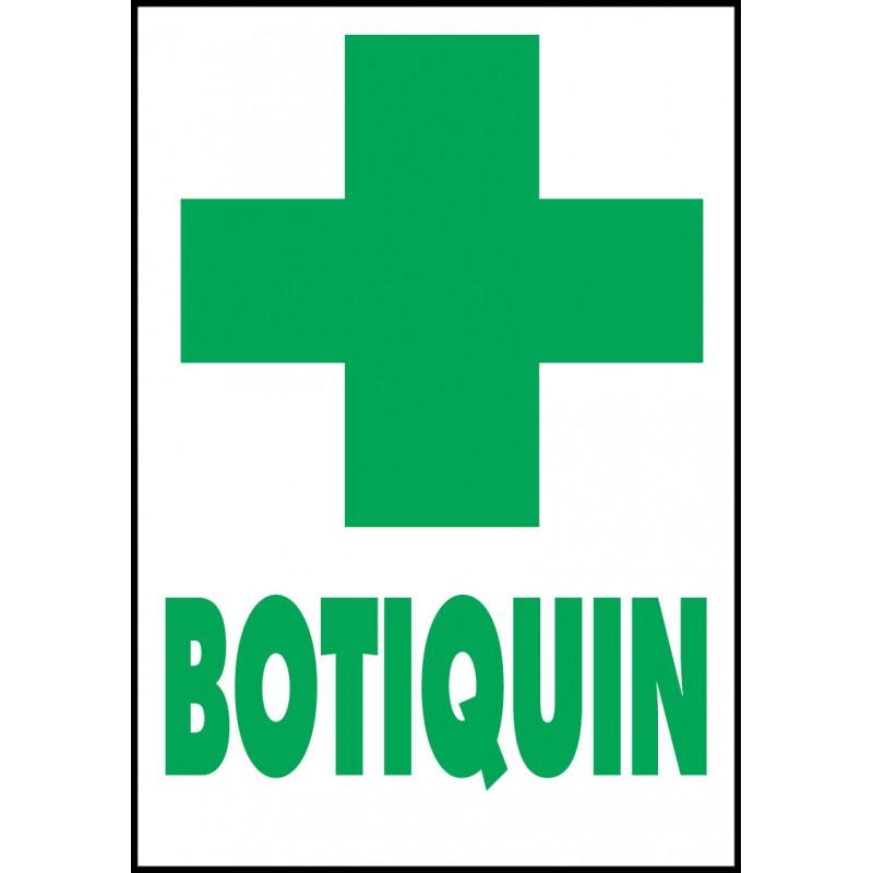 Cartel Botiquín
