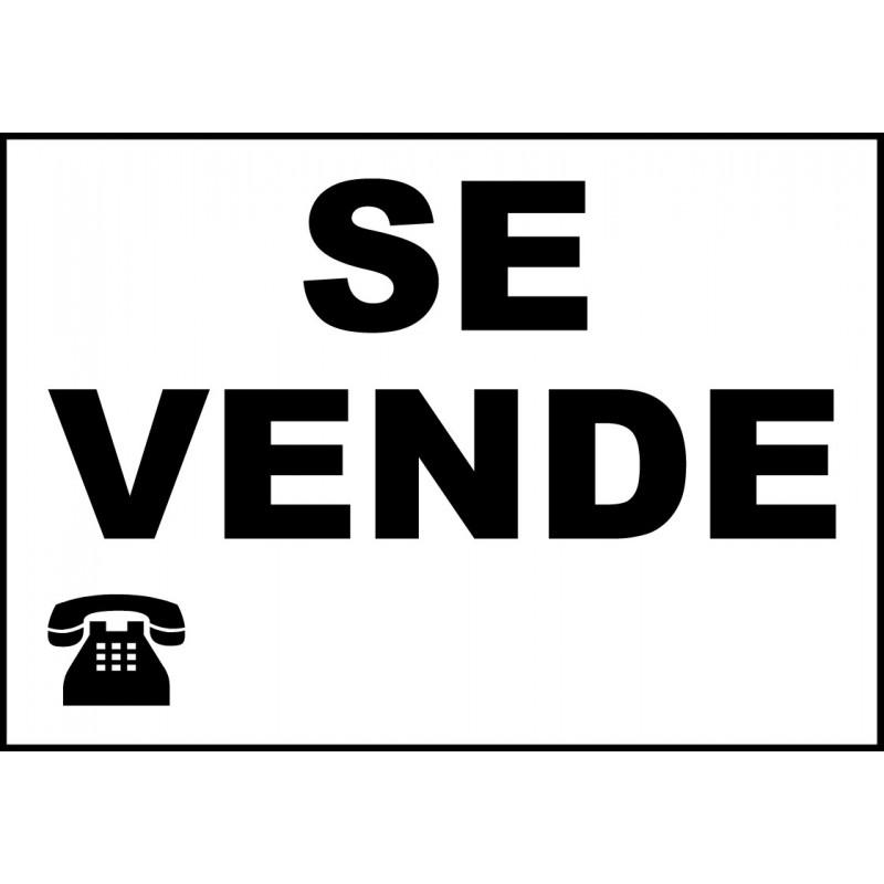 Cartel se vende brero shop for Se vende garaje