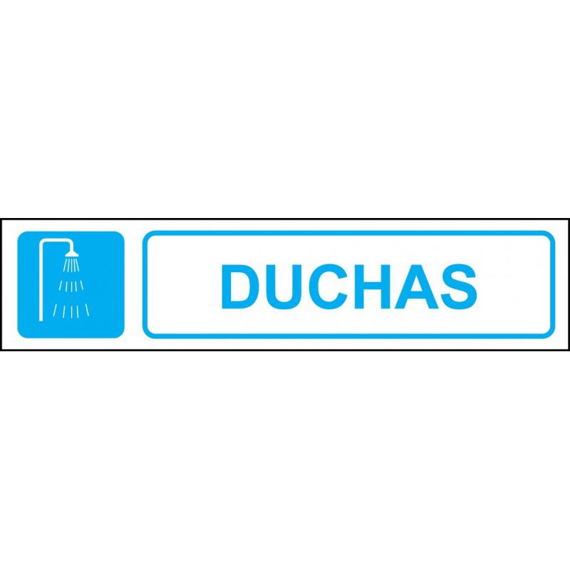 Cartel Horizontal Duchas