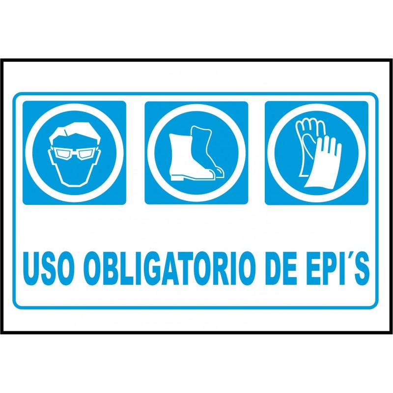 Cartel Uso Obligatorio de EPI's