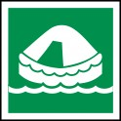 Señal Marítima Balsa Salvavidas
