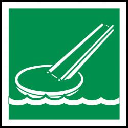 Señal Marítima Rampa de Evacuación