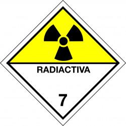 Peligro de Clase 7 - Señal Materias radiactivas