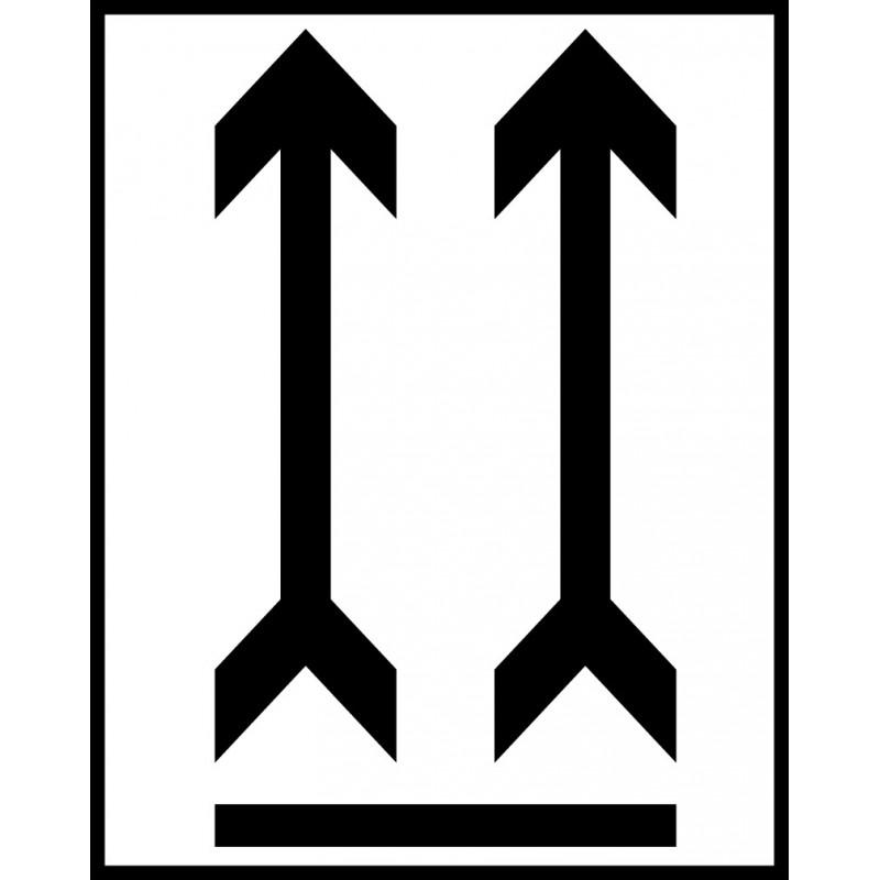 Señal Embalaje - Flechas de orientación de bulto