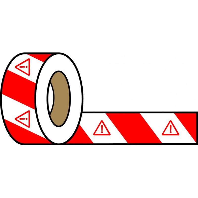 Rollo Blanco-Rojo 200m - Peligro Indefinido