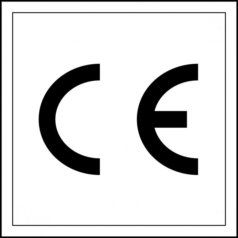 Pegatina Marca CE - Conformidad Europea