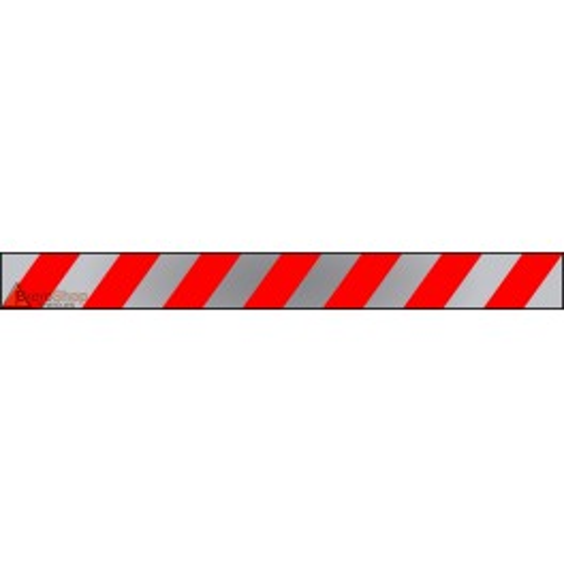Banda Adhesiva Rojo-Reflectante 1Metro X 10CM