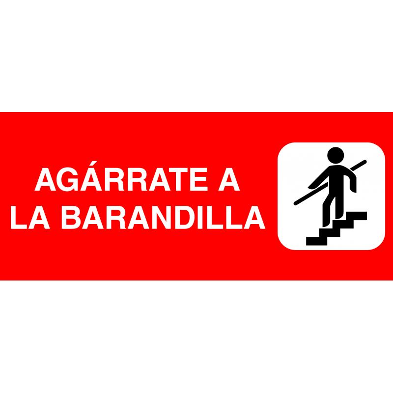 Banda Adhesiva para Escaleras - Agárrate a la Barandilla
