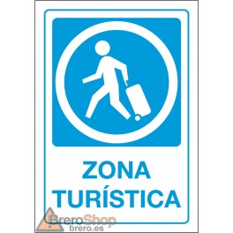 Cartel Zona Turística