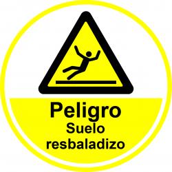 Señal Antideslizante para Suelo - Peligro suelo resbaladizo