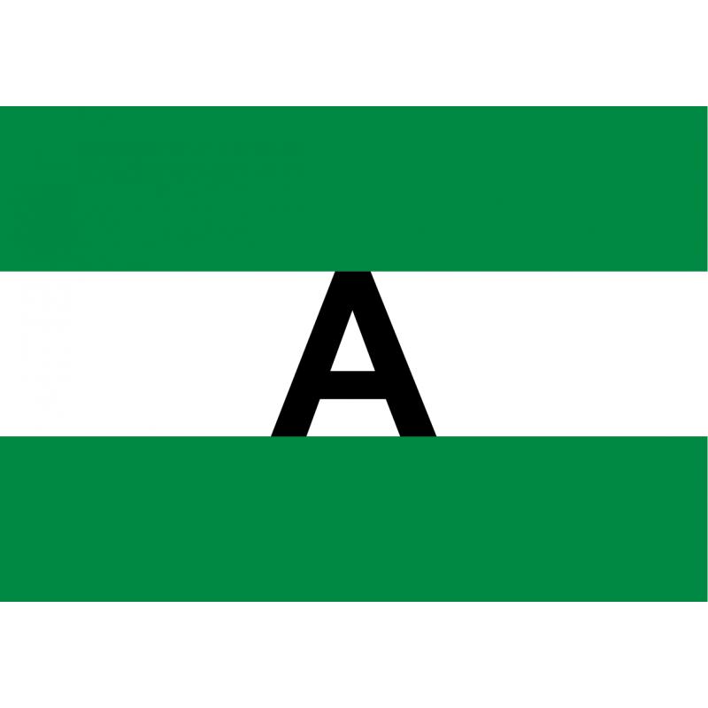 Adhesivo Bandera de Andalucía