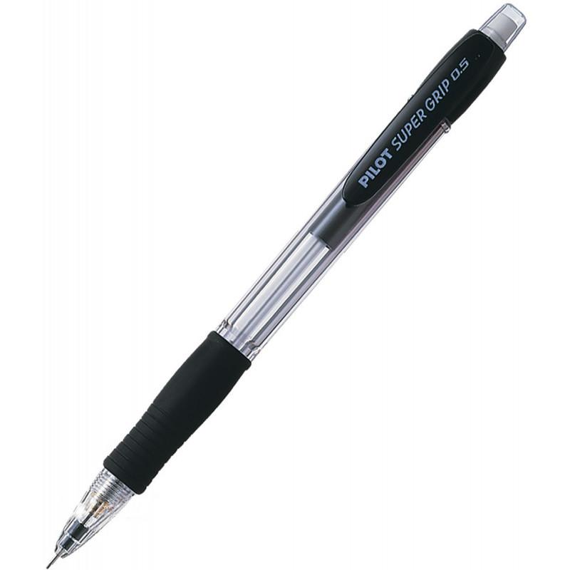 Portaminas Pilot Super Grip 0.5mm - H-185-SL-B - Negro