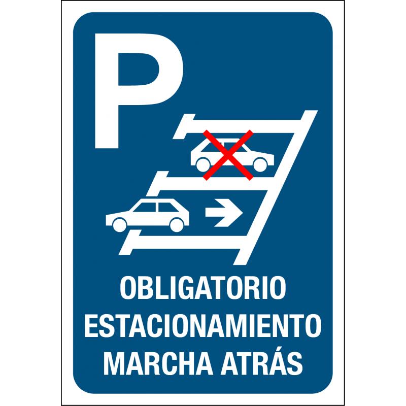 Obligatorio Estacionamiento Marcha Atrás
