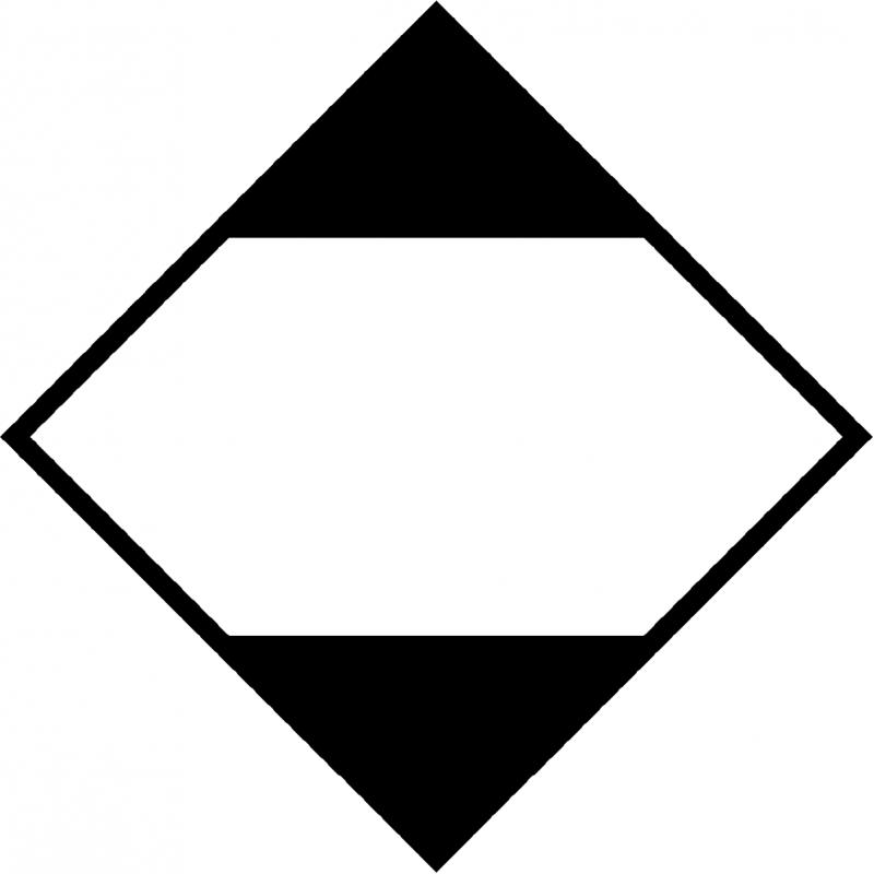 Señal Rombo - Mercancías Peligrosas - Cantidad Limitada - ADR LQ