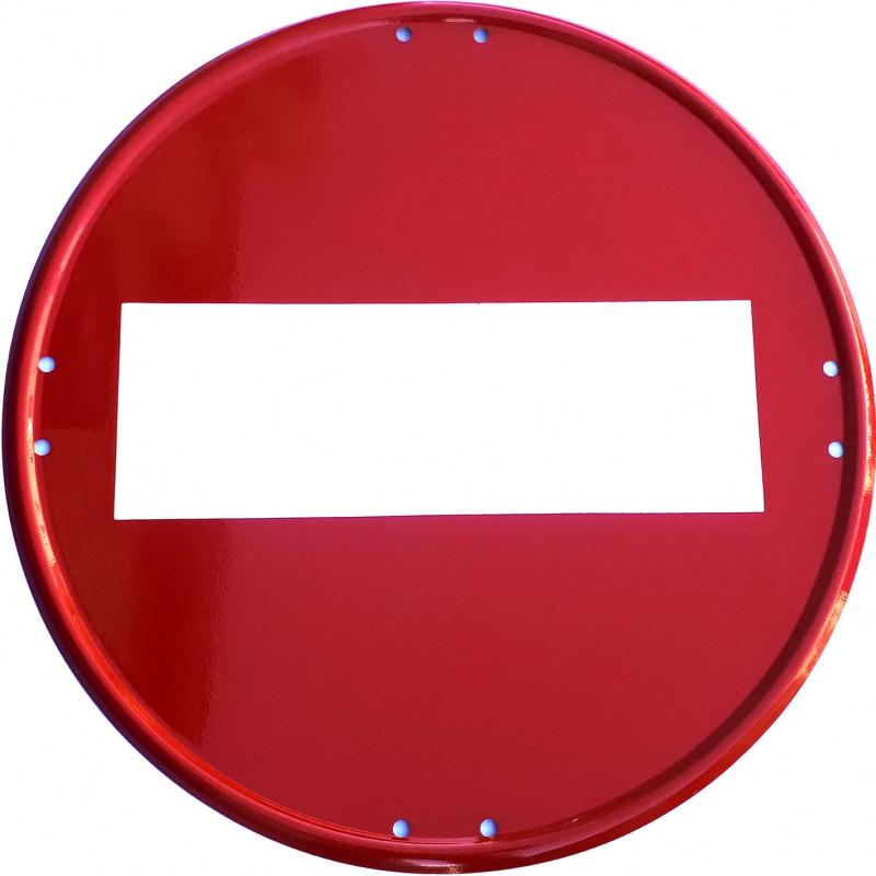Señal Metálica Vial Dirección Prohibida