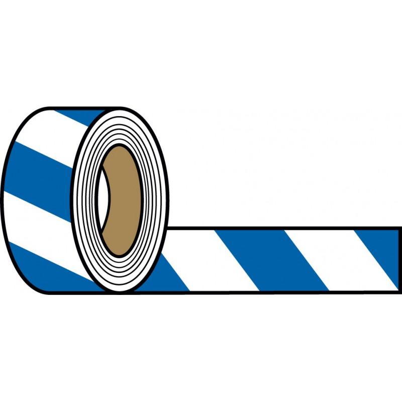 Rollo Blanco-Azul 250m. 7cm