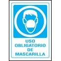 Cartel Uso Obligatorio de Mascarilla