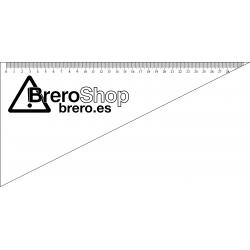 Cartabón Náutico Personalizado - 30cm