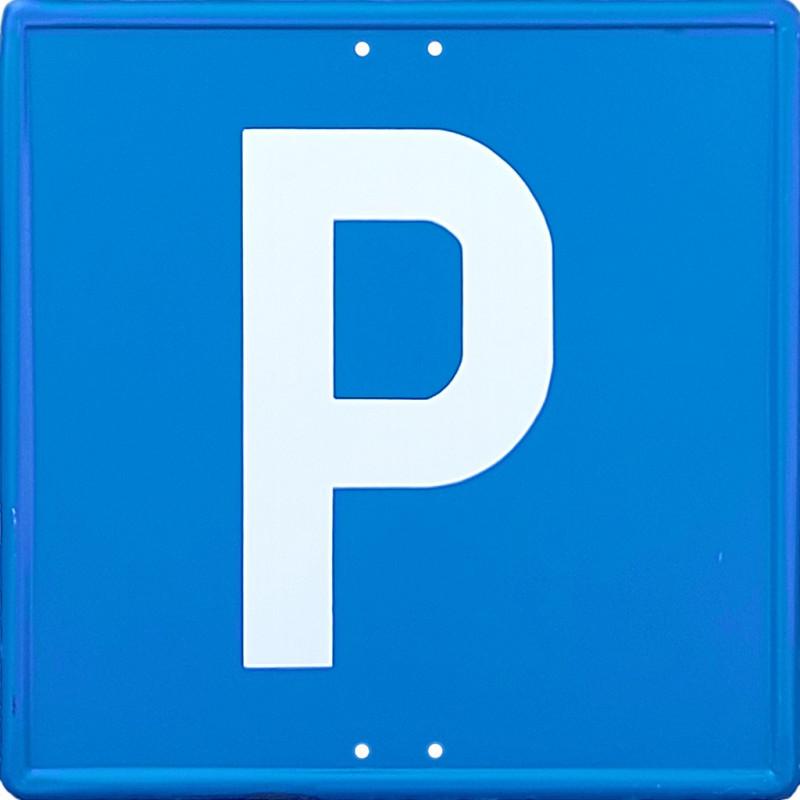 Señal Metálica Vial Parking