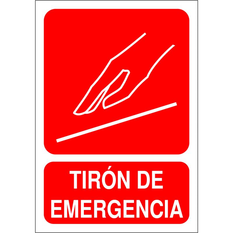 Adhesivo Tirón de Emergencia