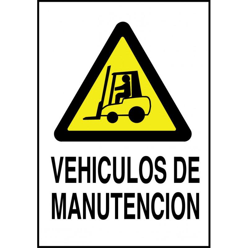 Cartel Vehículos de Manutención