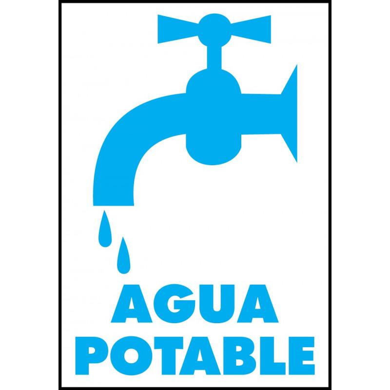 Cartel Agua Potable