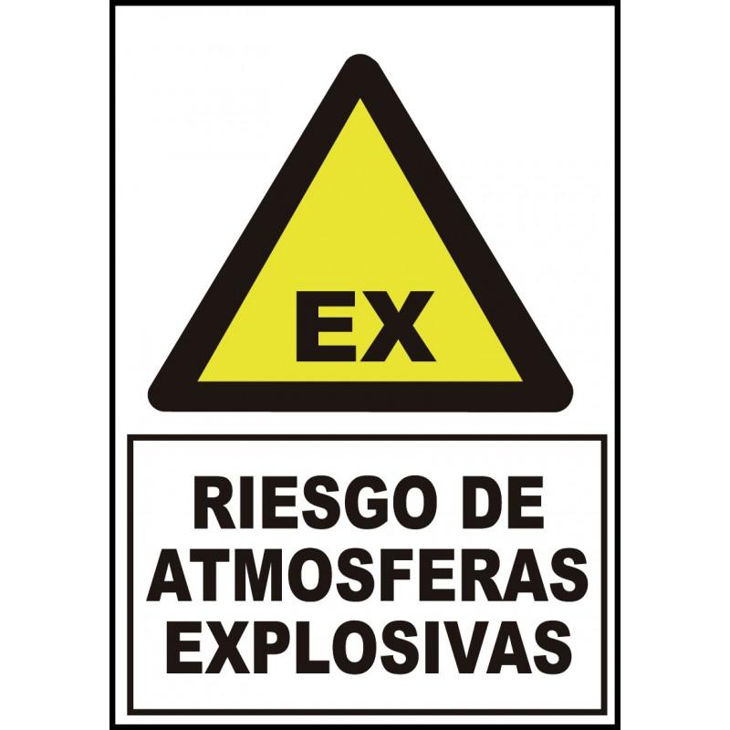 Cartel Riesgo de Atmósferas Explosivas