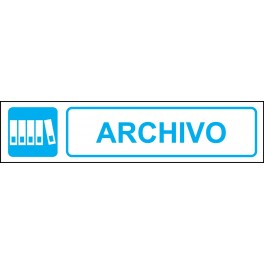Cartel Horizontal Archivo