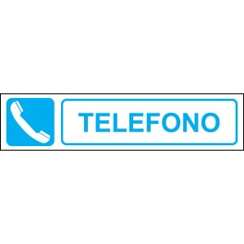 Cartel Horizontal Teléfono
