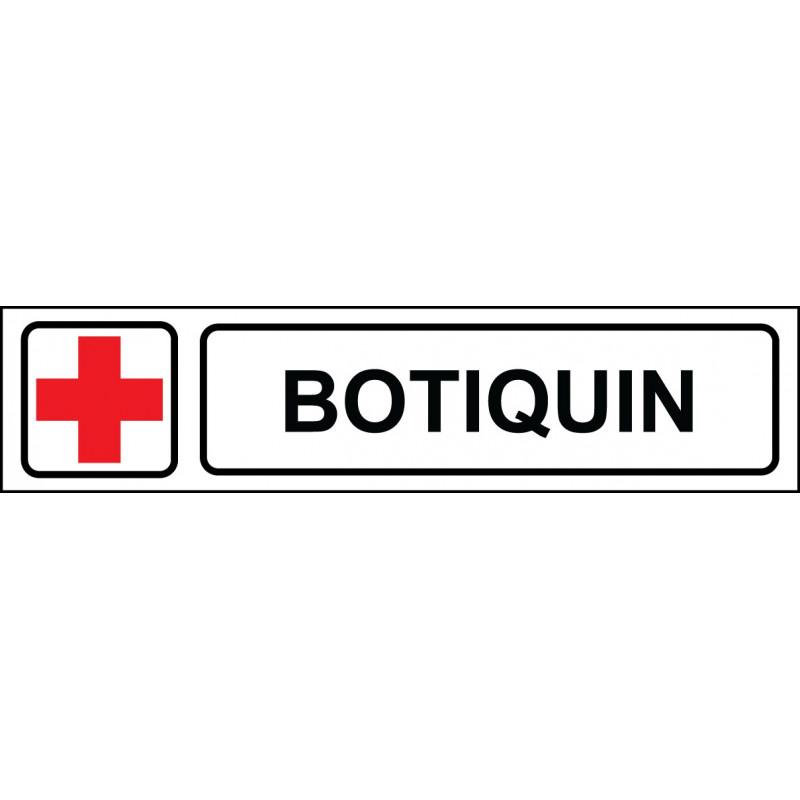 Cartel Horizontal Botiquín