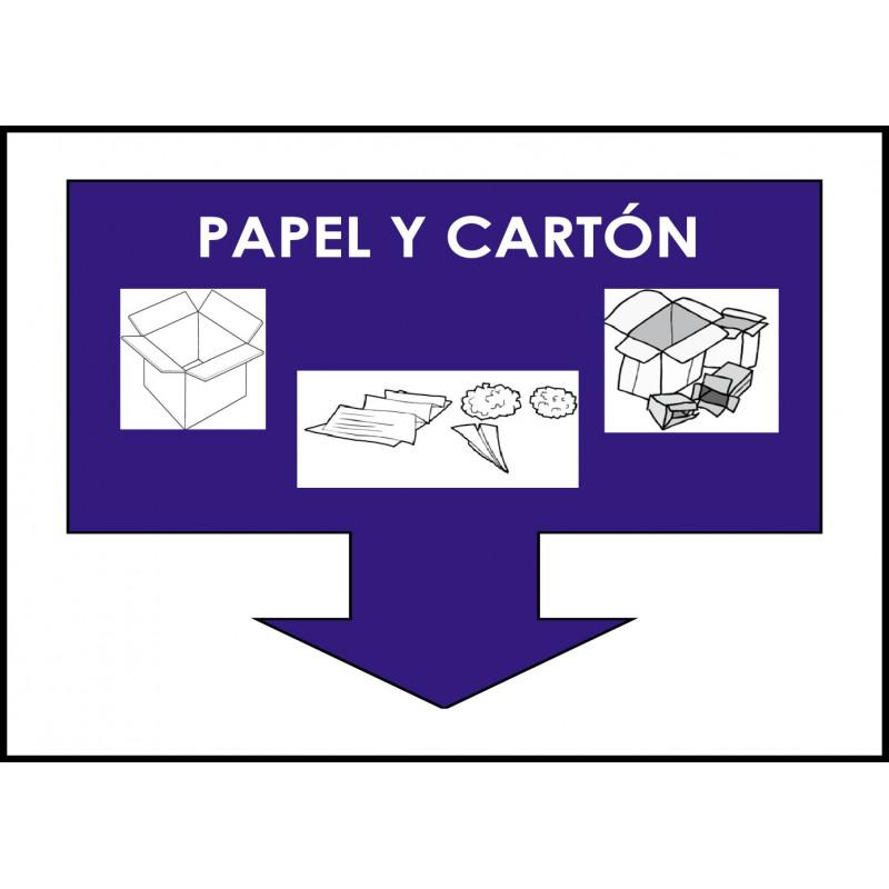 Cartel Papel y Cartón