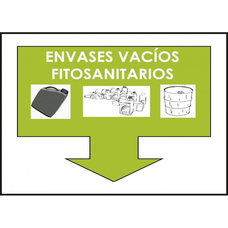 Cartel Envases Vacíos Fitosanitarios