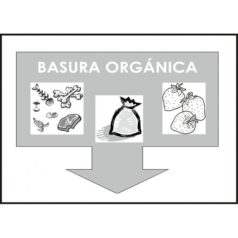 Cartel Basura Orgánica