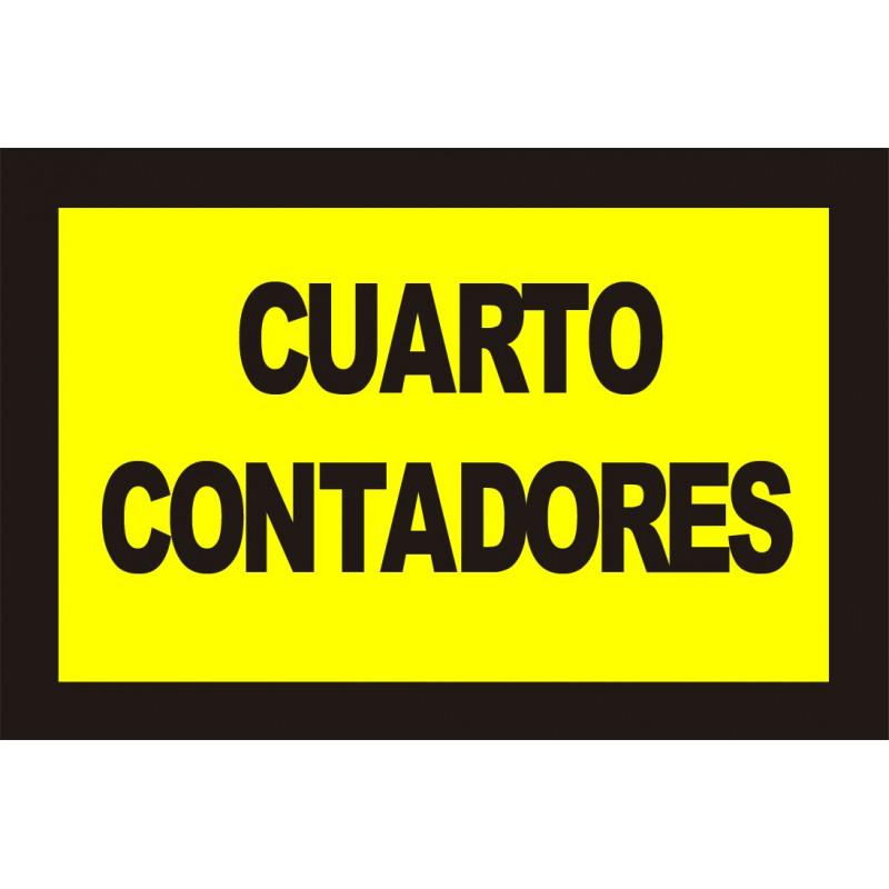 Cartel Cuarto Contadores