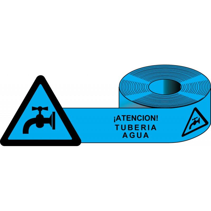 Rollo Azul Tubería Agua 250m.