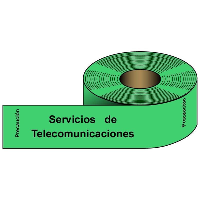 Rollo Verde Servicios de Telecomunicaciones 250m.