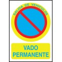 Cartel Vado Permanente