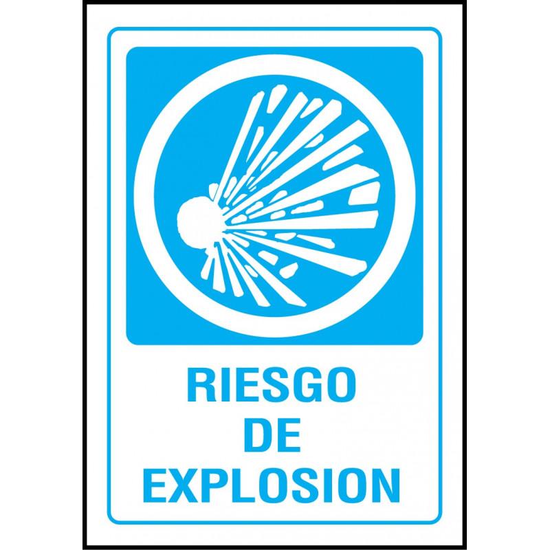 Cartel Riesgo de Explosión