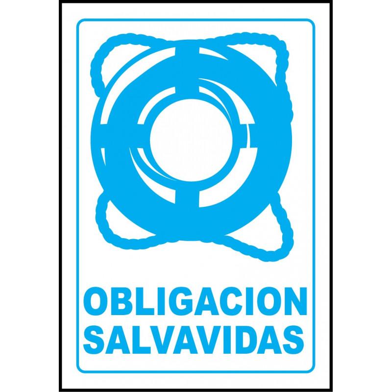 Cartel Obligación Salvavidas