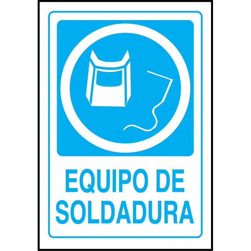 Cartel Equipo de Soldadura