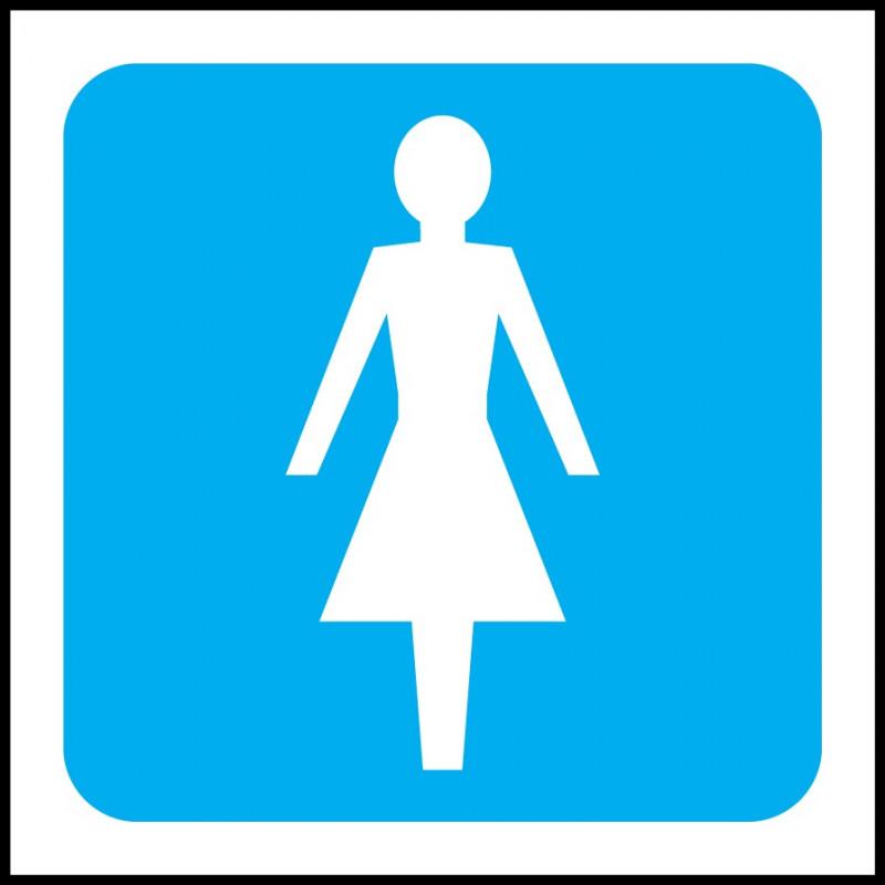 Cartel Aseos Mujeres