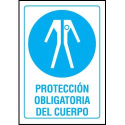 Cartel Protección Obligatoria del Cuerpo