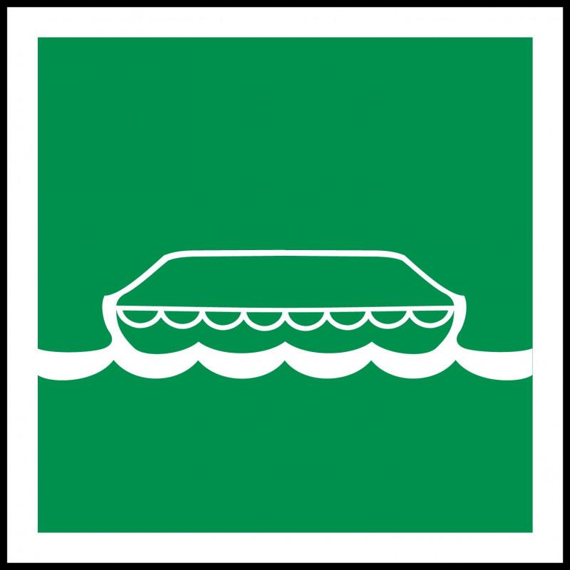 Señal Marítima Bote Salvavidas