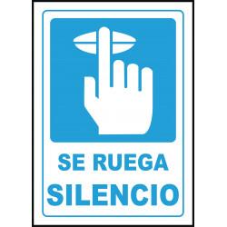 Cartel Se Ruega Silencio
