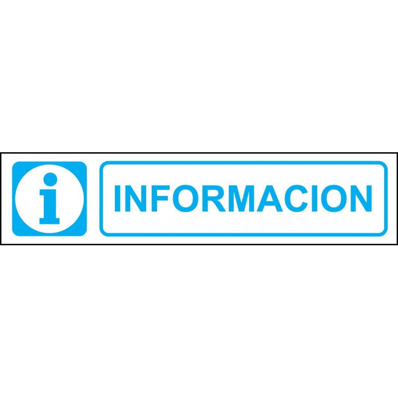 Cartel Horizontal Información