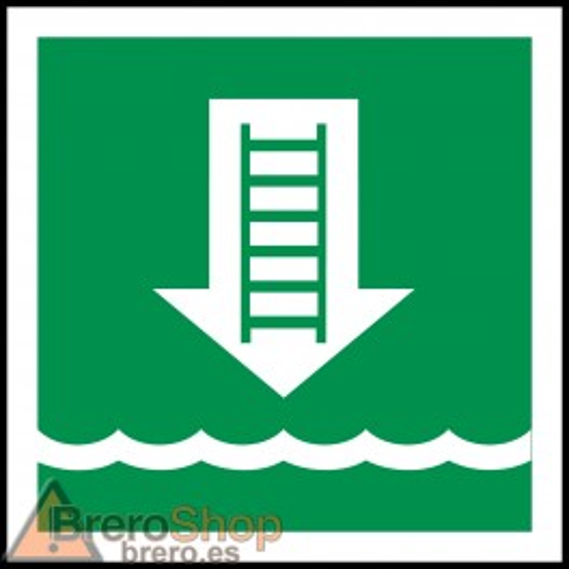 Señal Marítima Escala de Embarque / Escalera de Emergencia