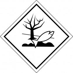 Materias peligrosas - Señal Sustancias peligrosas para el Medioambiente